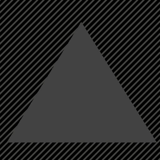 arrow, top, triangle, ui icon