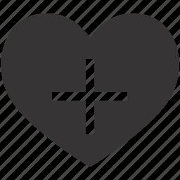 add, bookmark, favorite, heart, like, love, new icon