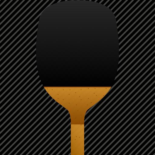 back, backside, bat, japanese, paddle, penhold, table tennis icon