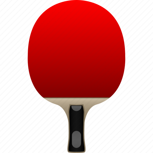 bat, blade, chinese, paddle, penhold, ping pong, table tennis icon