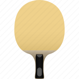 bat, blade, empty, new, no rubber, paddle, table tennis icon