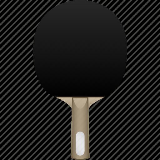 bat, black rubber, blade, handshake, paddle, ping pong, table tennis icon