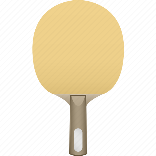 bat, blade, new, no rubber, paddle, ping pong, table tennis icon