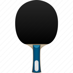 black rubber, blade, flare, handshake, paddle, ping pong, table tennis icon