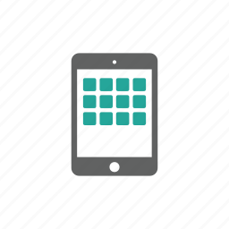 app, applications, apps, ipad, tablet icon