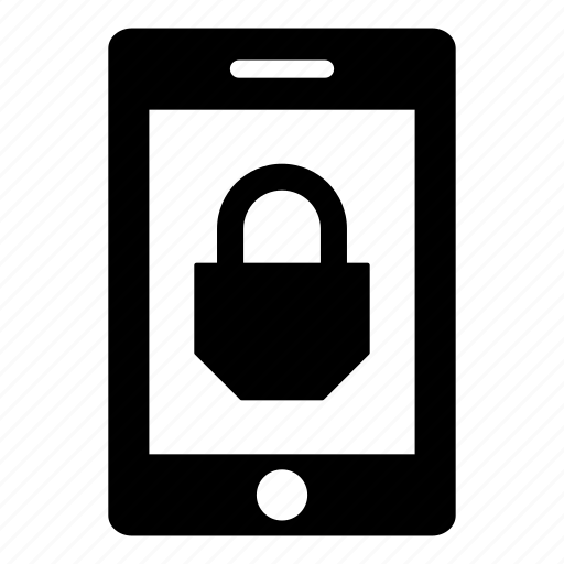 android, computer, ipad, lock, security, tablet, tablet computer icon