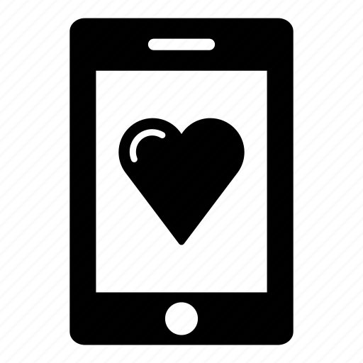android, heart, ipad, mobile, tablet, tablet computer, tablet display icon
