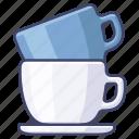 cup, drink, mug, saucer icon