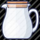 kettle, water, pot, glass