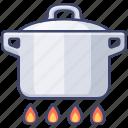 kitchen, stew, boil, cook