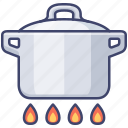 boil, cook, kitchen, stew icon