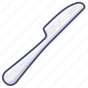 cutlery, kitchen, knife, tableware icon