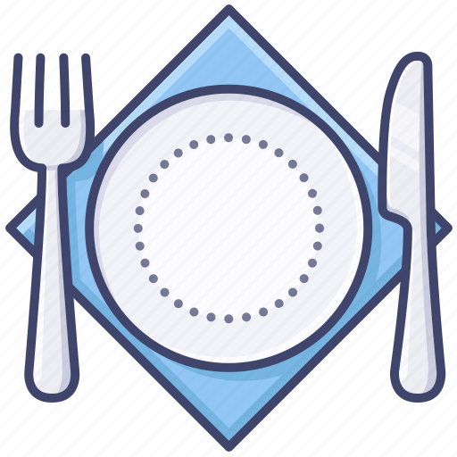 cutlery, dinner, restaurant, tableware icon