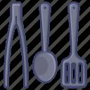 cooker, kitchen, spatula, utensil icon