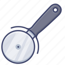 cutter, pizza, roller, slicer icon