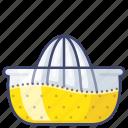citrus, juice, juicer, squeezer icon