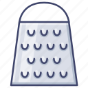 cheese, cook, grater, kitchen icon