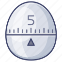 kitchen, stopwatch, timer icon