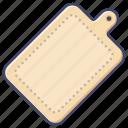 board, chopping, cutting, kitchen icon