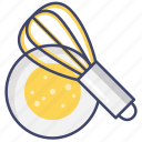 beater, egg, mixer, whisk icon