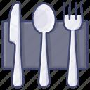cutlery, dinner, kitchen, tableware icon
