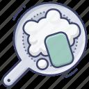 cleaning, dishwashing, sponge, wash icon