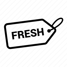 coupen, discount, fresh, offer, pricing, sale, tag icon
