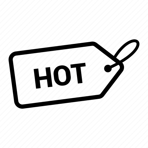 coupen, discount, hot, offer, pricing, sale, tag icon