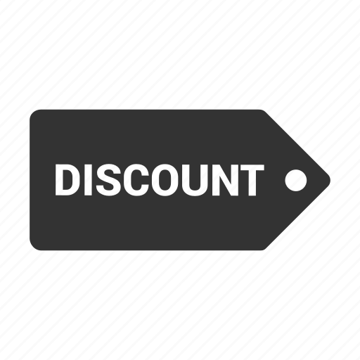 discount, label, offer, pricing, sale, shopping, tag icon