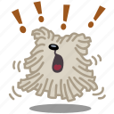 animal, annoy, bark, dog, loud, pet, shout icon