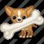bone, dog, huge, pet, puppy, trophy, winner icon