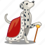 animal, dog, king, pet, pride, proud, royal icon