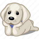 animal, dog, dream, labrador, pet, puppy, romantic icon