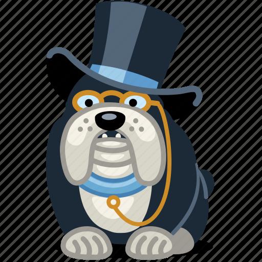 dog, fancy, finance, pet, rich icon