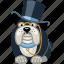 animal, dog, finance, money, pet, rich, smart icon