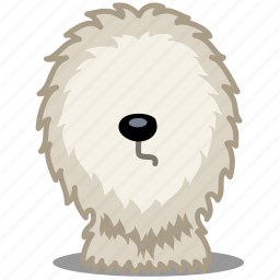 animal, animals, dog, fluff, hair, pet, shepherd icon