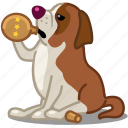 alcohol, animal, bottle, dog, drunk, flask, pet icon