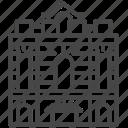 building, landmark, red house, taipei, taiwan, theater, ximending icon