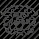 chinese, dog, guard, guardian, lion, stone, taiwan