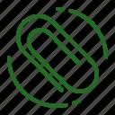 attacment, clip, ecommerce, paper icon