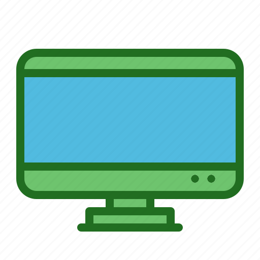 lcd, led, monitor, screen, tv icon