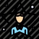 bright, man, star, student, user icon