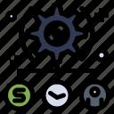 setting, task, todo, user icon