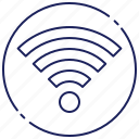 communication, connection, internet, signal, technology, wifi, wireless icon
