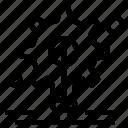 Bulb Gear Idea Icon