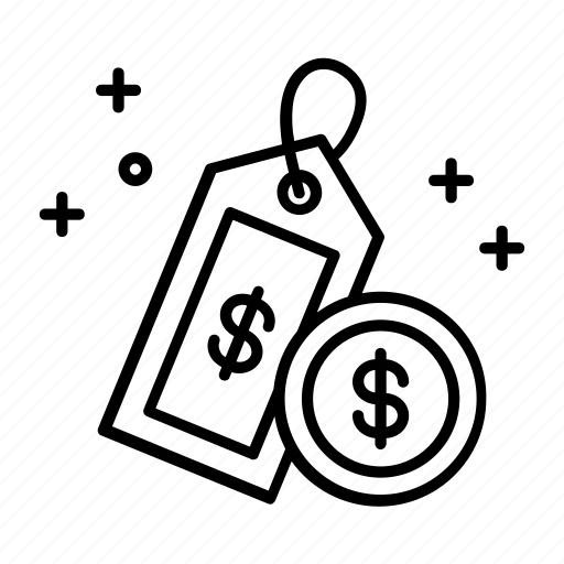 business, discount, ecommerce, label, price, sale, tag icon