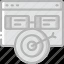 hr, human, mangement, resources, target, task, tasking icon