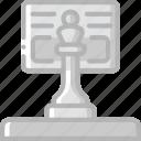hr, human, resources, strategy, task, tasking icon