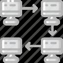 flow, hr, human, resources, task, tasking icon