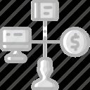 hr, human, mangement, resources, task, tasking icon